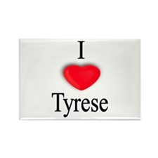 Tyrese Rectangle Magnet
