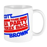 Scott Brown The Tea Party Strikes Back Small Mugs
