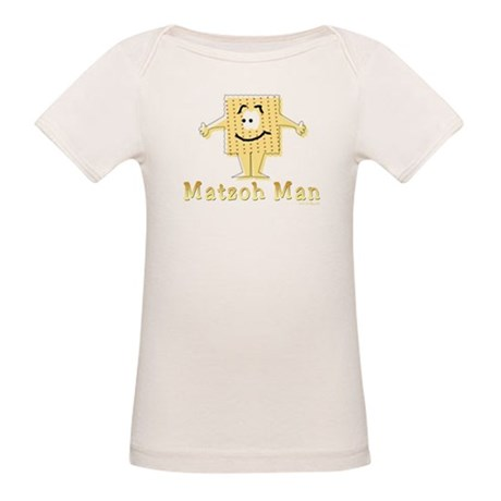 Matzoh Man Passover Organic Baby T-Shirt