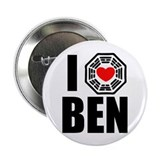 "I Love Ben Linus 2.25"" Button"