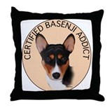 Basenji Throw Pillow