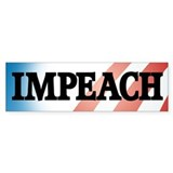 Anti-Obama: Impeach! Bumper Bumper Sticker