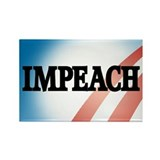 Anti-Obama: Impeach! Rectangle Magnet (10 pack)