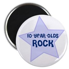 10-Year-Olds Rock Magnet