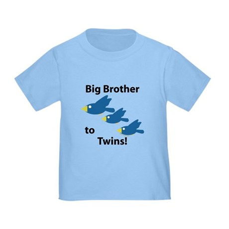 Big Brother to Twins Toddler T-Shirt