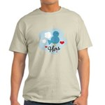 Matching Love Bird Hers Light T-Shirt