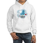 Matching Love Bird Hers Hooded Sweatshirt