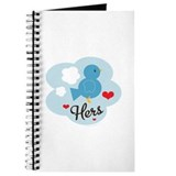 Matching Love Bird Hers Journal