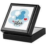 Matching Love Bird Hers Keepsake Box