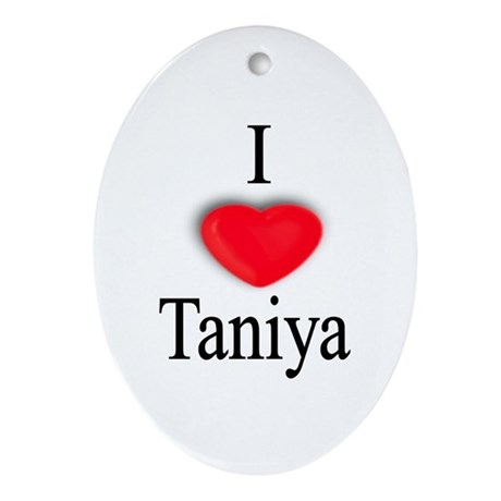 Taniya Oval Ornament