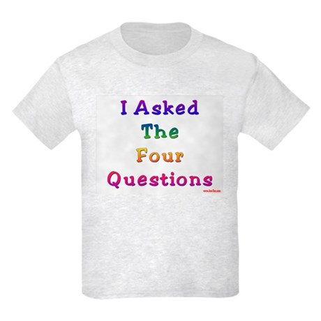 Four Questions Passover Kids Light T-Shirt