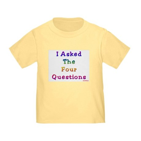 Four Questions Passover Toddler T-Shirt