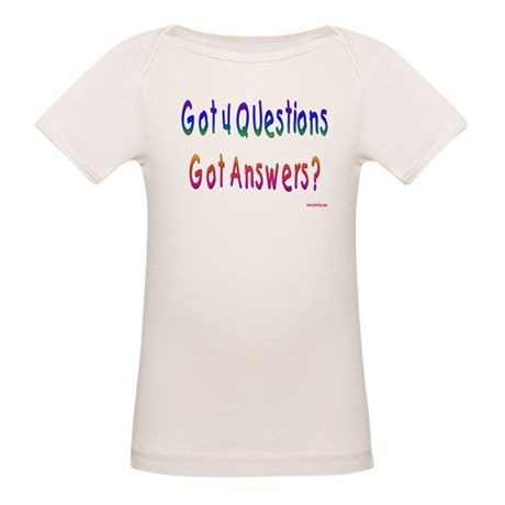 4 Questions Answers Passover Organic Baby T-Shirt