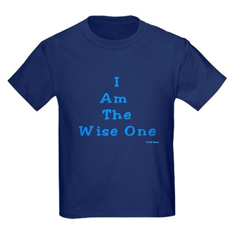 The Wise One Passover Kids Dark T-Shirt