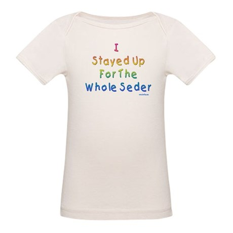 The Whole Seder Passover Organic Baby T-Shirt