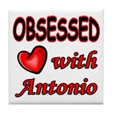 Funny Antonio Tile Coaster
