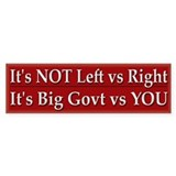 Big Government vs You