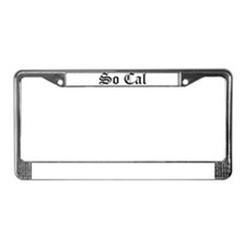 Cute Long beach License Plate Frame