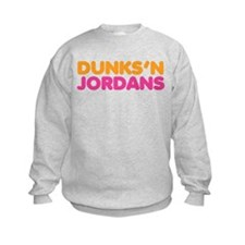 Dunks 'N Jordans Kids Sweatshirt