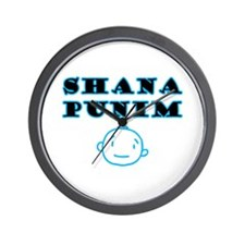 Shana Punim Wall Clock