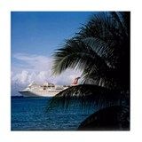Grand Cayman Tile Coaster
