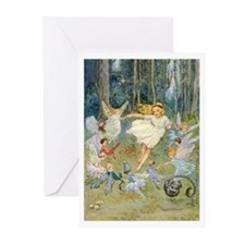DANCING IN THE FAIRY RING Greeting Cards (Pk of 20