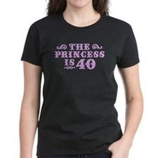 The Princess is 40 Tee