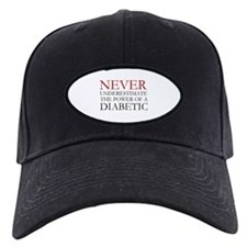 Never Underestimate... Diabetic Cap