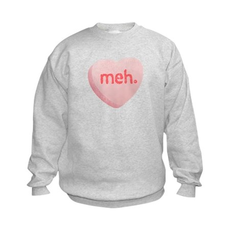 Meh Sweeetheart Kids Sweatshirt