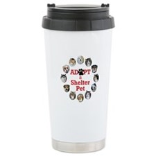 Adopt a Shelter Pet Ceramic Travel Mug
