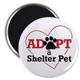 "Adopt a Shelter Pet 2.25"" Magnet (10 pack)"