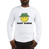 Happy Camper camping Long Sleeve T-Shirt