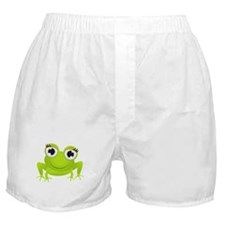 Girlie Girl Frog Frogette Boxer Shorts
