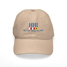 Hilton Head Island SC - Nautical Design Baseball Cap