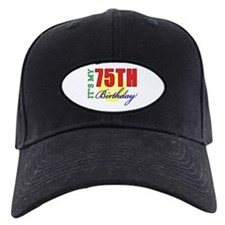 75th Birthday Party Baseball Hat