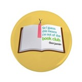 "Lost Book Club 3.5"" Button (100 pack)"