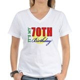 70th Birthday Party Shirt