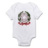 Italy Coat of Arms Emblem Infant Bodysuit