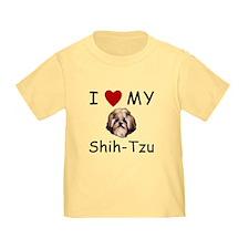 I Heart My Shih-Tzu Lost Humor T