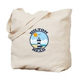 Hilton Head Island SC - Beach Design Tote Bag