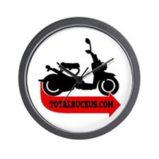 TotalRuckus Wall Clock