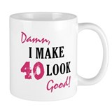 Hot 40th Birthday Coffee Mug