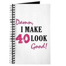 Hot 40th Birthday Journal