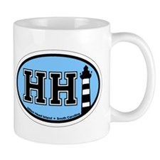 Hilton Head Island SC - Oval Design Mug