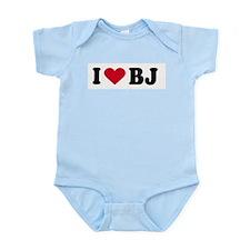 I LOVE BJ ~  Infant Creeper