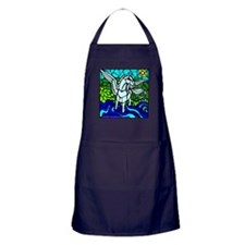 Pegasus the flying horse Apron (dark)