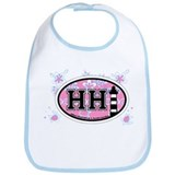 Hilton Head Island SC - Oval Design Bib