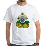 Honduras Coat of Arms (Front) White T-Shirt