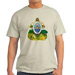 Honduras Coat of Arms (Front) Light T-Shirt