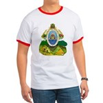 Honduras Coat of Arms Ringer T